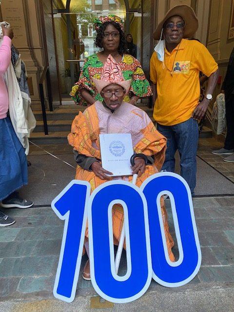 Centenarian Johnson OGBEBOR Discloses the Secret to Longevity